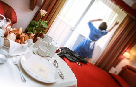 Colazione in camera a Trento