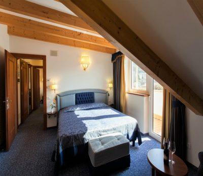 suite con sauna privata in camera